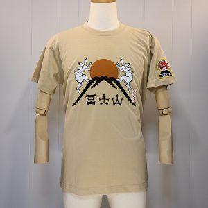 Tシャツ「鳥獣戯画(富士山)」