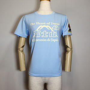 Tシャツ「The Heart of Japan」レディースブルー